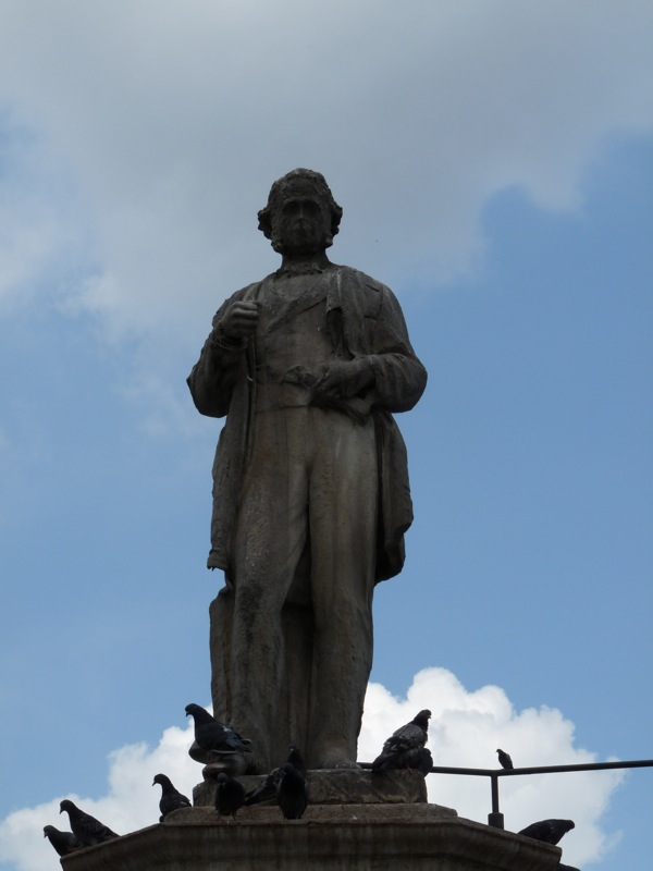 Cobden statue, Mornington Crescent, London
