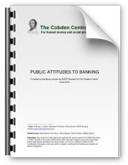 Public Attitudes to Banking