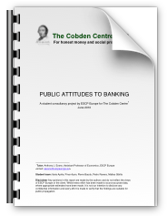 Preview: Public Attitudes to Banking