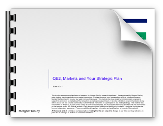 QE2, markets and your strategic plan