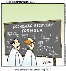 Econ Recovery Formula cartoon