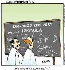 Econ Recovery Formula cartoon