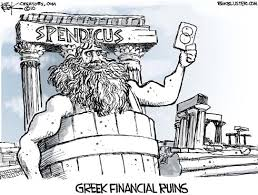 Greek Spendicus cartoon