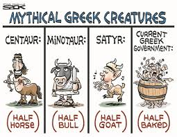 Mythical Greek Creatures cartoon