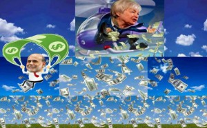 Helicopter Yellen cartoon
