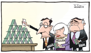 Yellen and the House of Cards