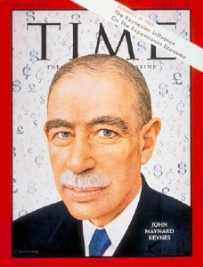 Keynes on Time Magazine Cover