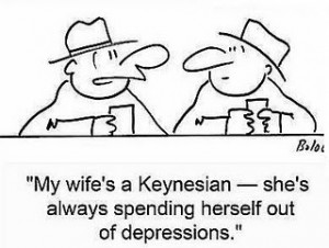 Keynesian-Wife-Spending-Herself-Out-of-D