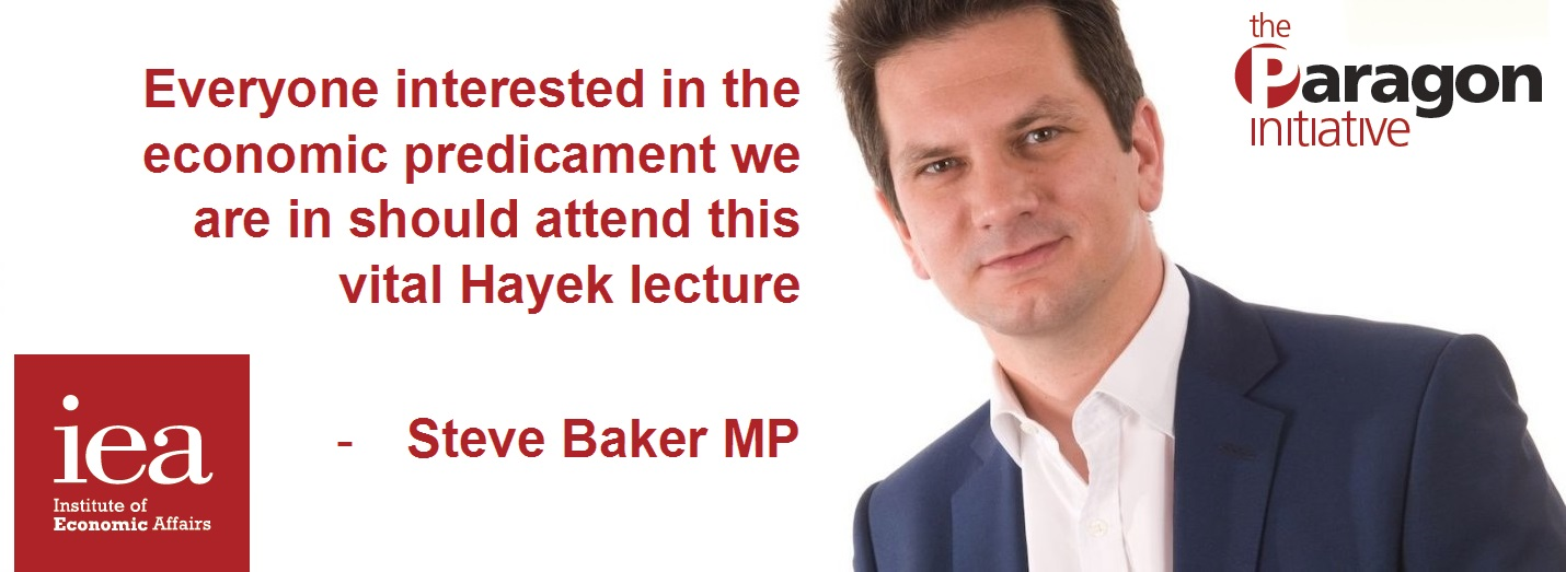 Annual IEA Hayek Memorial Lecture