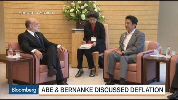 Abe-Meets-With-Bernanke-What-Did-They-Discuss