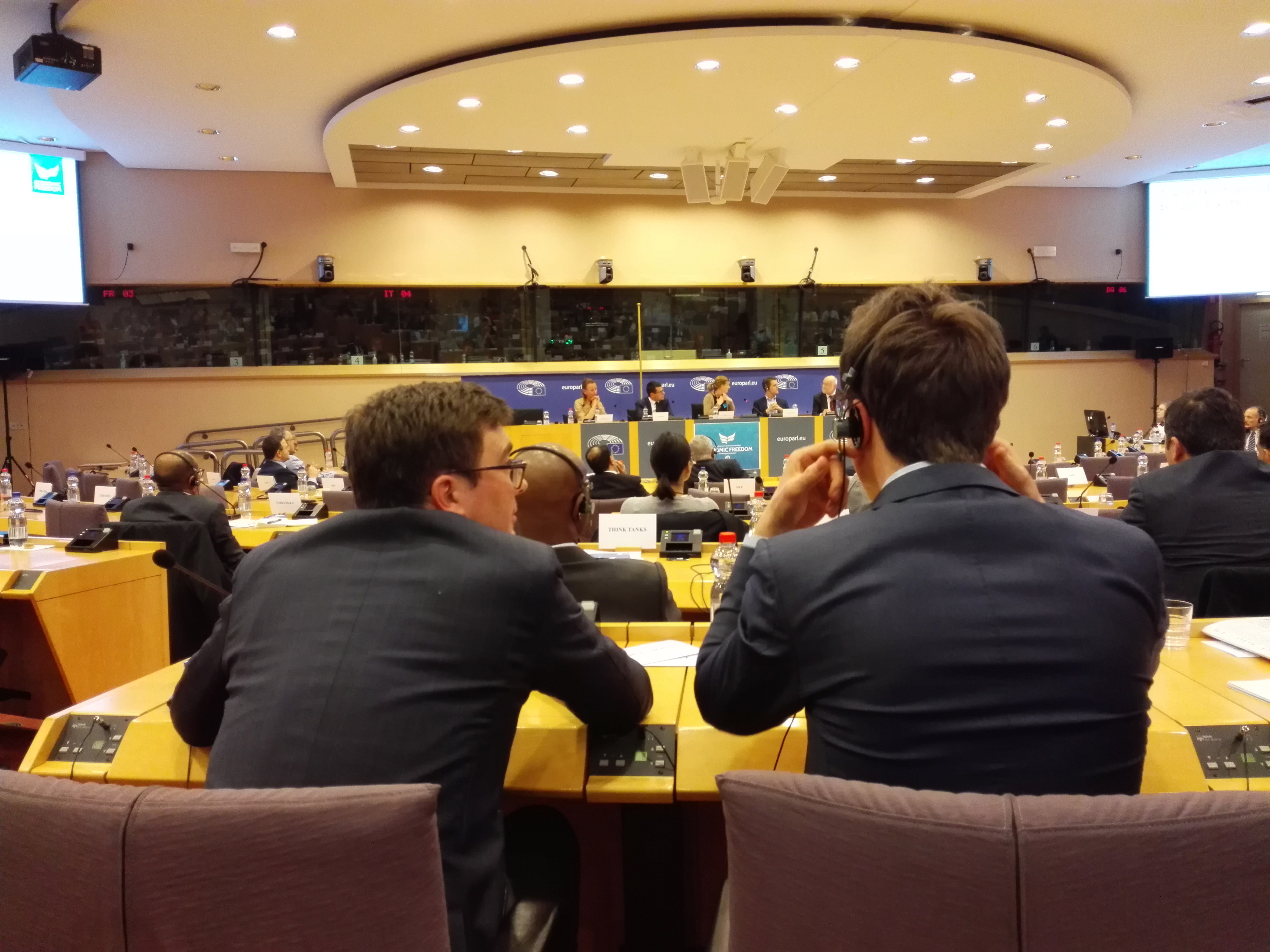First Annual Economic Freedom Summit in European Parliament