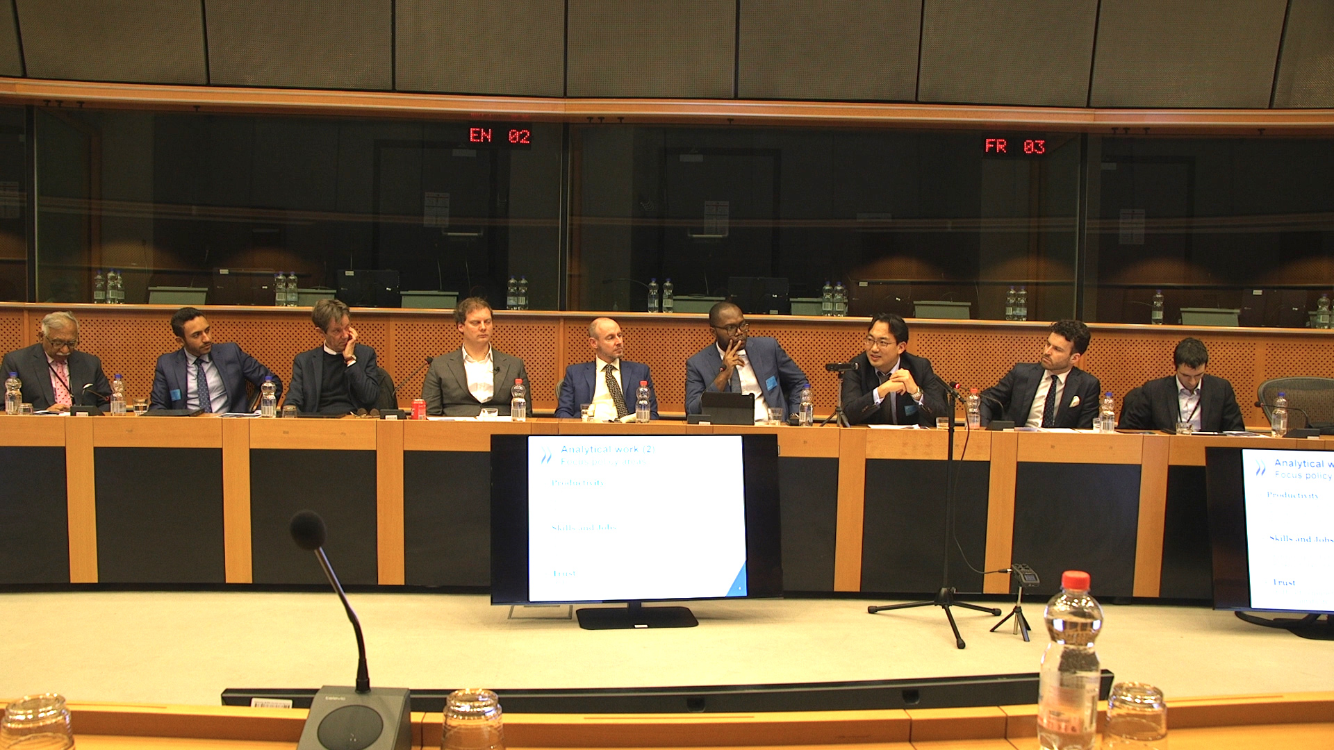 Future of Artificial Intelligence Roundtable Discussions in the European Parliament