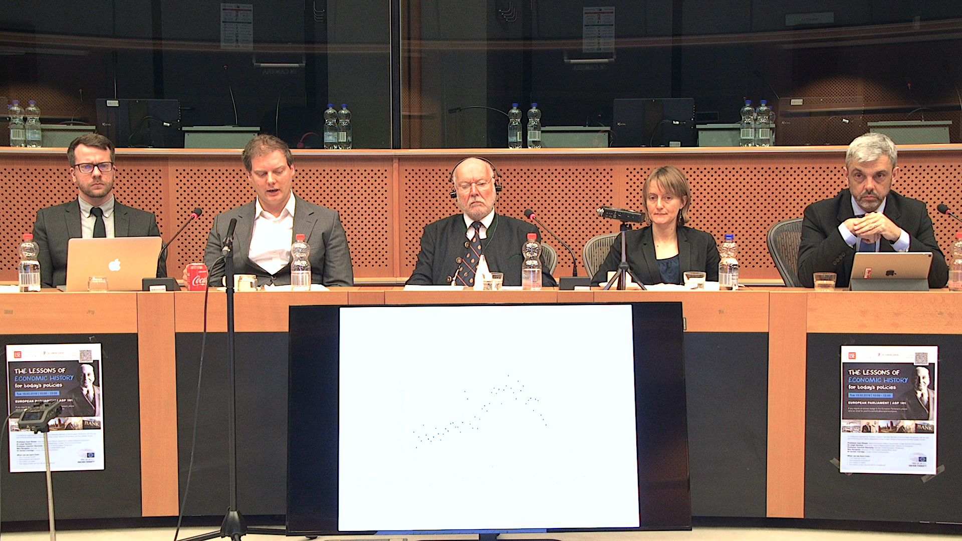 """The Lessons of Economic History"" in the European Parliament"