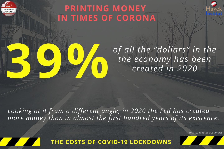 Printing Money in Times of Corona